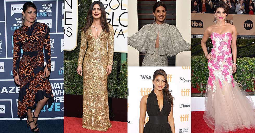 30 times Priyanka Chopra rocked the International red carpet