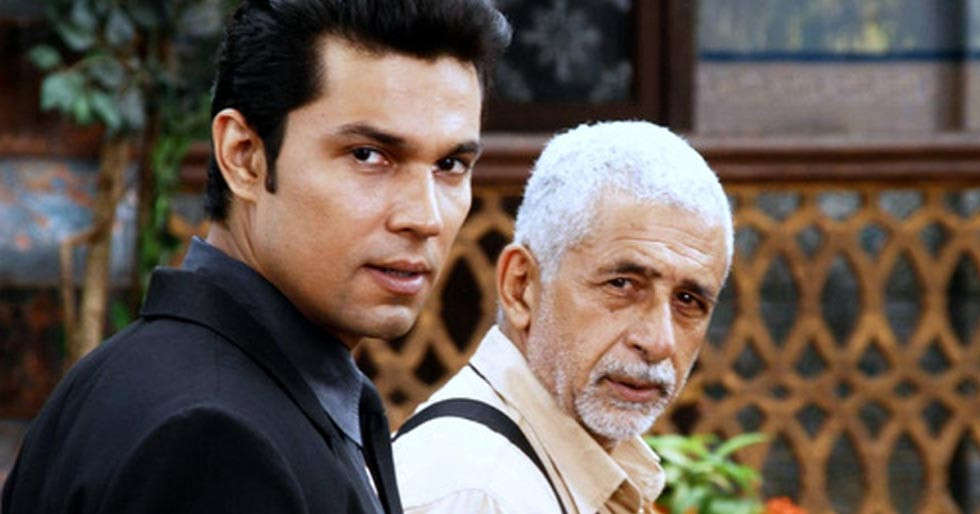 Randeep Hooda posts a message for Naseeruddin Shah on Guru Purnima