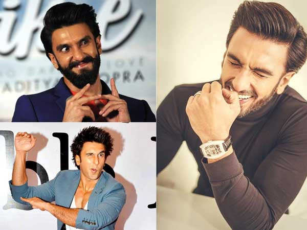 Pictures that prove Ranveer Singh is the King of expressions