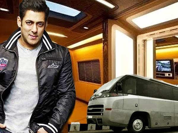Salman Khan's vanity van is the ultimate in luxury