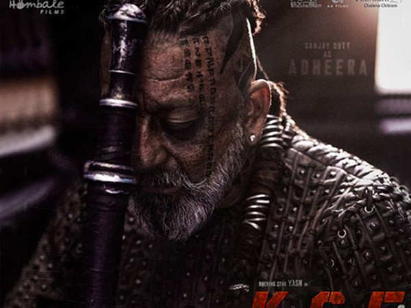 Sanjay Dutt Shares the First Look of his Character Adheera Rom KGF 2
