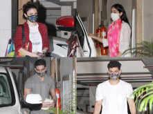 Spotted: Sara Ali Khan, Ibrahim Ali Khan, Soha Ali Khan and Kunal Kemmu