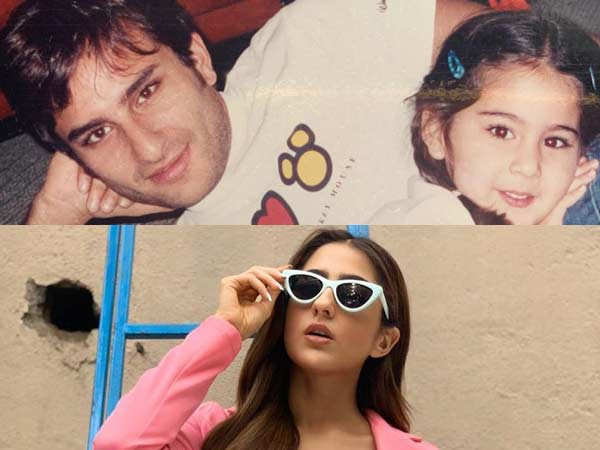 Sara Ali Khan showers love on father Saif Ali Khan in her latest post