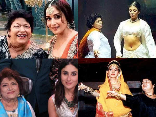 Remembering late Saroj Khan's work with her biggest muses
