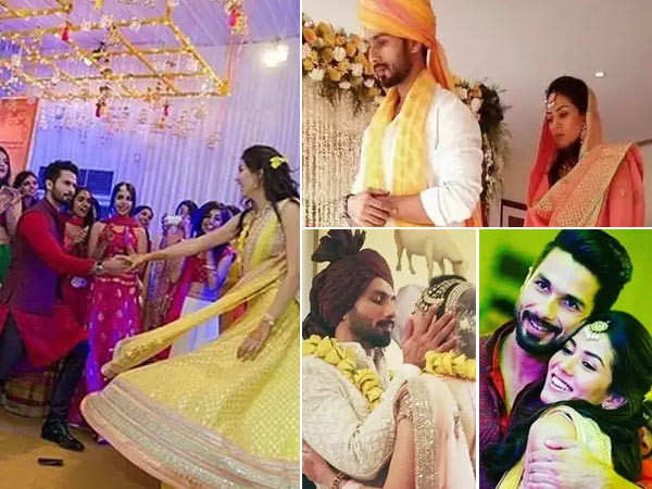 Unseen Pictures from Shahid Kapoor and Mira Kapoor's Wedding Ceremony