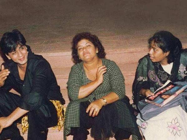 Shah Rukh Khan calls Saroj Khan his first teacher in the film industry