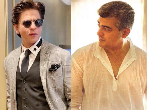 Did you know: Shah Rukh Khan and Thala Ajith have worked together in a film