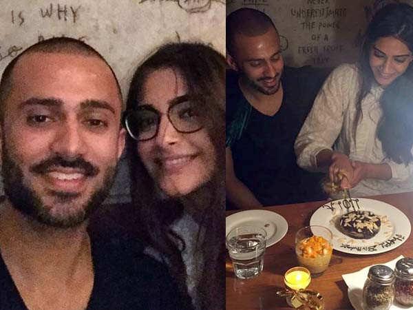 Sonam Kapoor celebrates Anand Ahuja's birthday in London