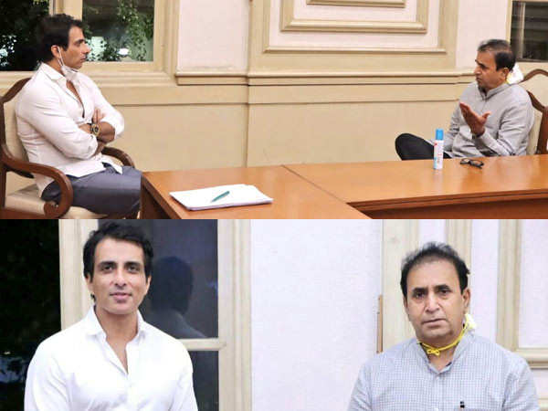 Sonu Sood contributes 25000 face shields for police personnel
