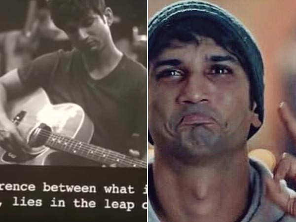 The first frame of Sushant Singh Rajput in Dil Bechara takes the internet by storm
