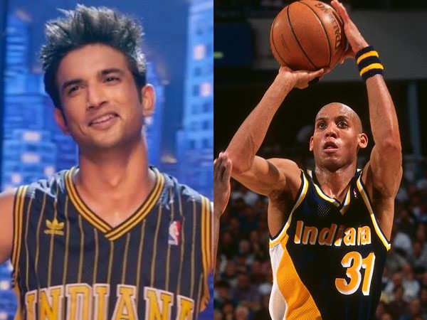 NBA legend Reggie Miller reacts to Sushant Singh Rajput sporting his jersey