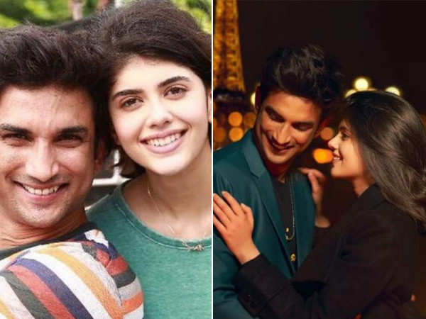 Sanjana Sanghi Mourns the Loss of her Dil Bechara Co-star Sushant Singh Rajput