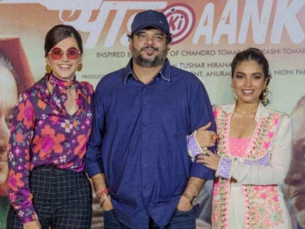 Bhumi Pednekar & Taapsee Pannu wish Saand Ki Aankh director Tushar Hiranandani on his birthday