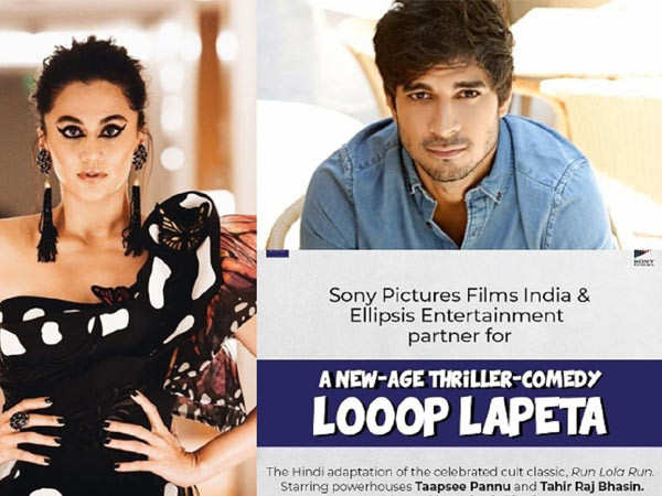 Taapsee Pannu's next film to have a COVID 19 insurance?