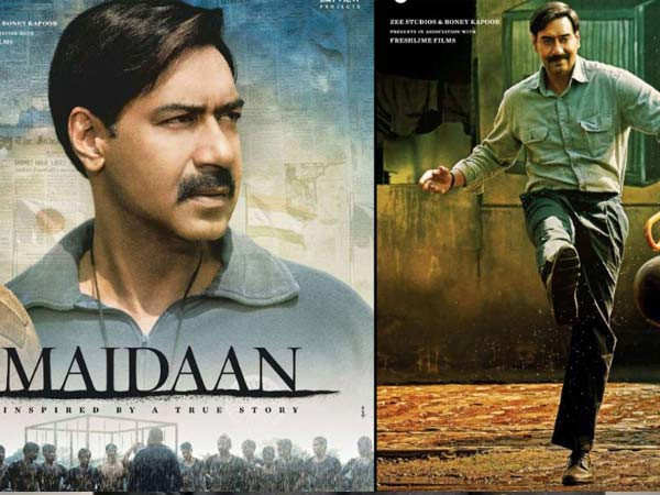 Ajay Devgn's much-awaited sports drama Maidaan will have an August 2021 release