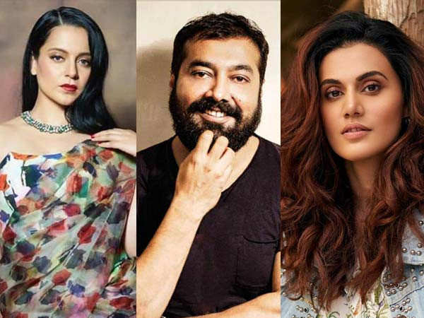 Anurag Kashyap Reveals he Tried to Sort Things Between Kangana Ranaut and Taapsee Pannu