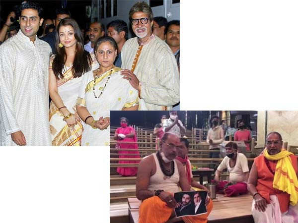 Special prayers offered for the Bachchan family at a temple in Ujjain