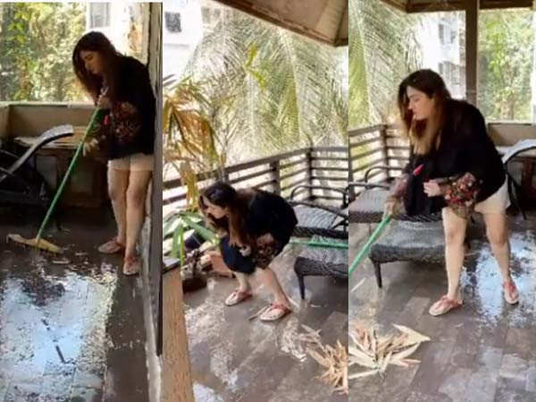 This video of Raveena Tandon is unmissable