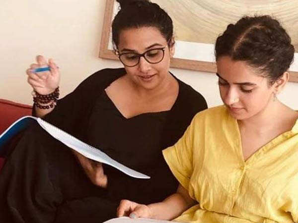 "Working on Shakuntala Devi has been a very fulfilling experience"" -  Sanya Malhotra"
