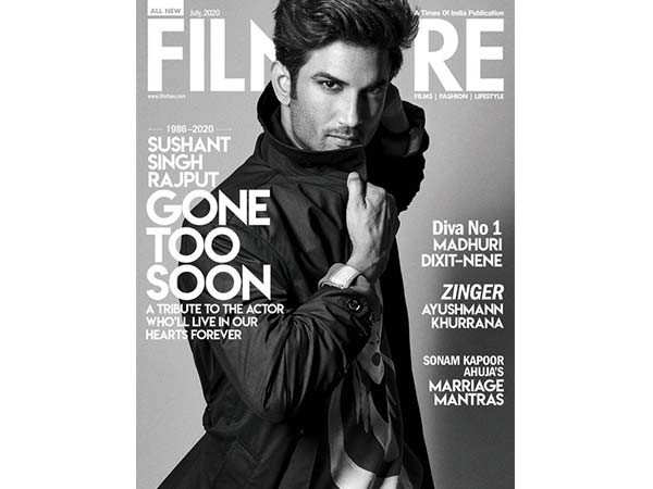 A special tribute to Sushant Singh Rajput in our latest issue