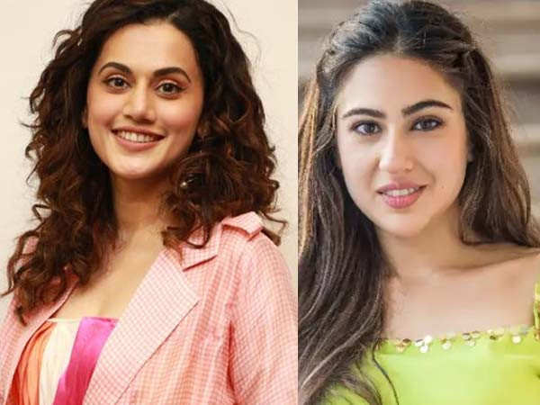 Sara Ali Khan sends some love to Taapsee Pannu on her mother's behalf