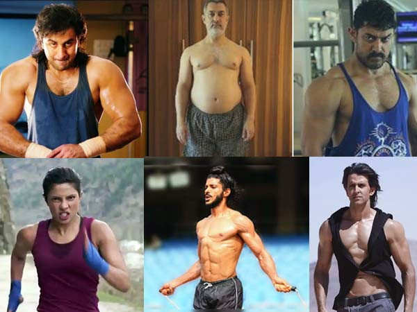 5 times Bollywood actors transformed their body for a part