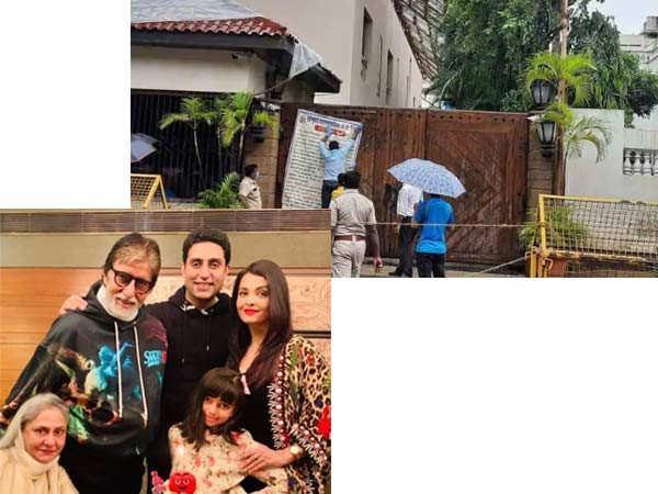 Amitabh Bachchan's Jalsa No longer a Containment Zone