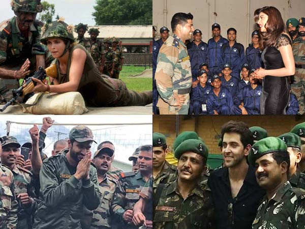 Kargil Vijay Diwas: Pictures of stars with the Indian Army