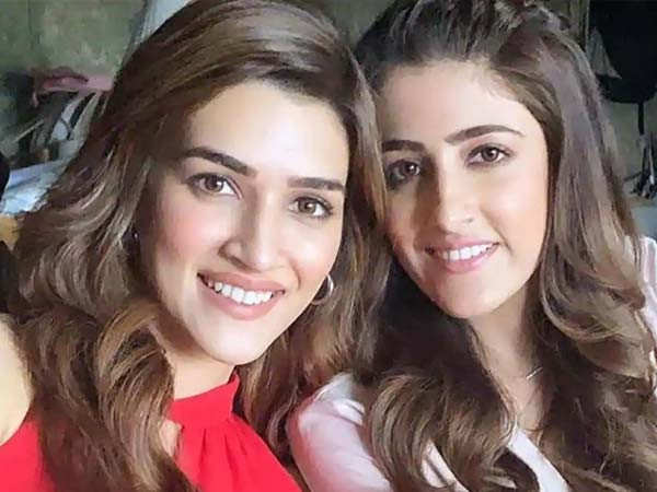 Nupur Sanon Wishes her Sister Kriti Sanon in the Most Adorable Aay