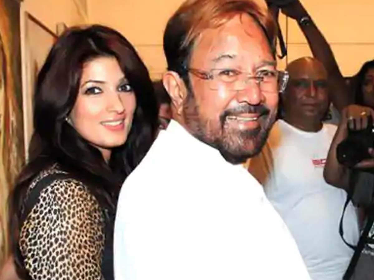 Twinkle Khanna shares a throwback picture on father Rajesh ...