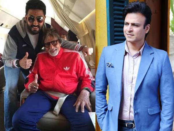Vivek Oberoi wishes speedy recovery for the Bachchan family on Twitter