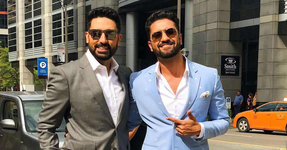 Abhishek Bachchan suggests doing a documentary on food with Vicky Kaushal and Taapsee Pannu