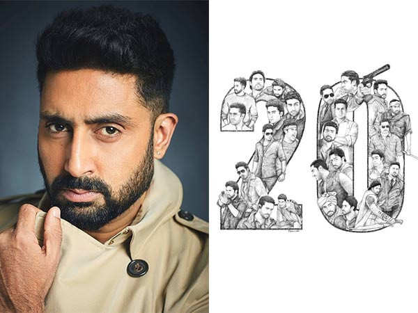 Abhishek Bachchan marks 20 years in the industry with this special note on Instagram