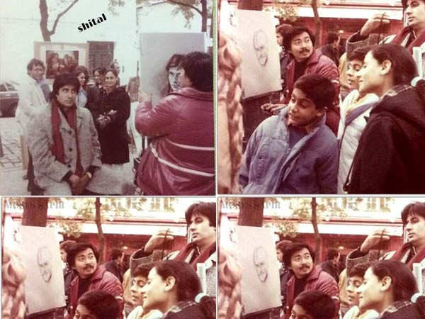 When Abhishek Bachchan was unsure about Amitabh Bachchan's portrait in Paris