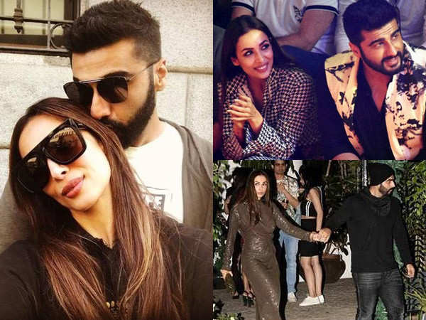 Adorable pictures of birthday star Arjun Kapoor with the love of his life, Malaika Arora