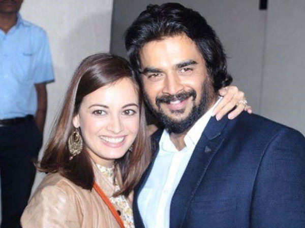 Dia Mirza gets us nostalgic with her birthday wish for R Madhavan ...