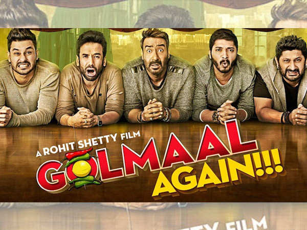 Rohit Shetty's Golmaal Again to re-release in New Zealand