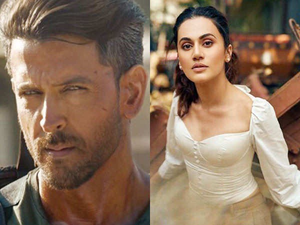 Hrithik Roshan responds to Taapsee Pannu's post about him