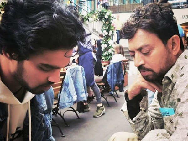 Irrfan Khan's son Babil shares a throwback picture of the late actor