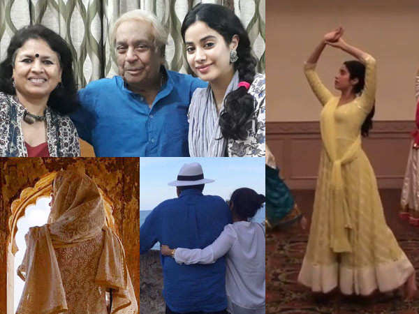 Janhvi Kapoor shares 9 throwback treats for her fans