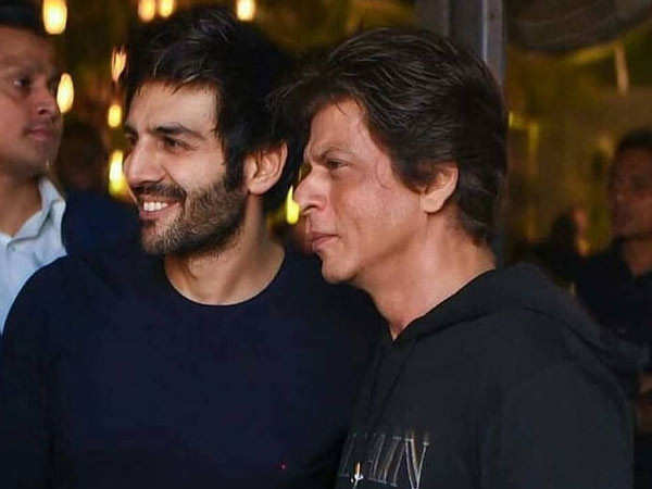 Kartik Aaryan Wants to go Invisible so he can Quietly Observe Shah Rukh Kha
