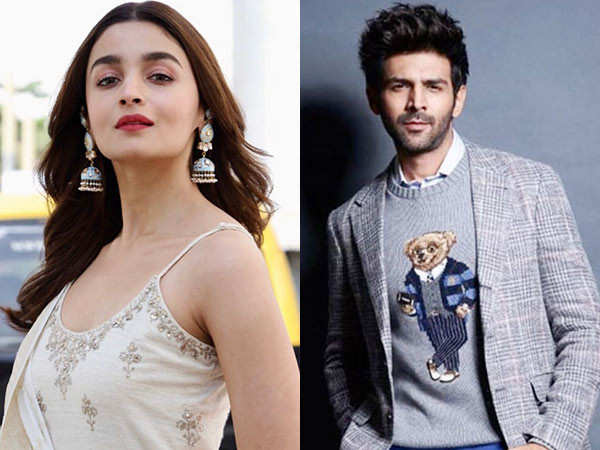 Video: Kartik Aaryan wants Alia Bhatt to recommend him to Sanjay Leela Bhansali