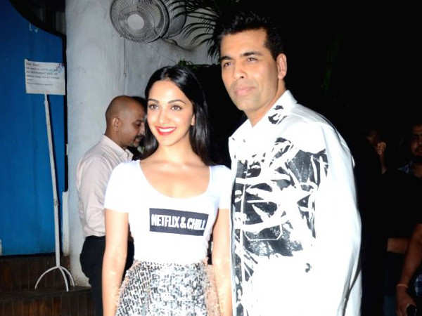 Kiara Advani wishes to do a comedy film with Karan Johar