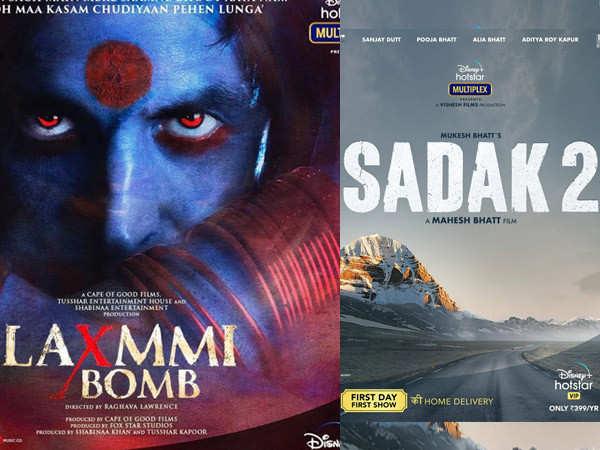 Laxmmi Bomb, Sadak 2 and other Bollywood films gear up for a digital releas