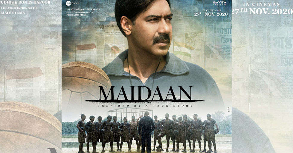Ajay Devgnâs Maidaan to have a theatrical release