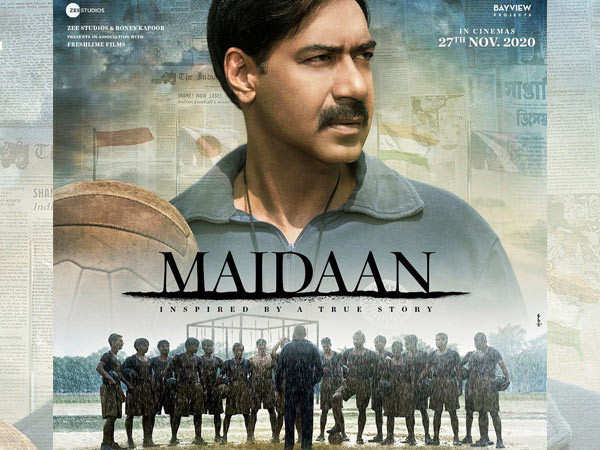 Ajay Devgn's Maidaan to have a theatrical release
