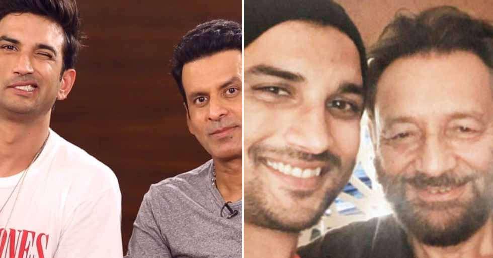 Manoj Bajpayee and Shekhar Kapur canât stop praising late Sushant Singh Rajput