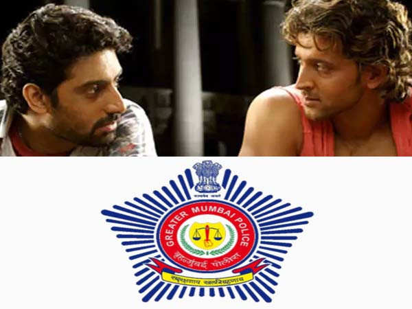 Mumbai Police has a savage reply to Hrithik Roshan's famous dialogue from Dhoom 2