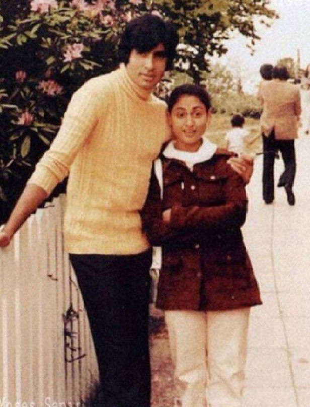 Photos of Amitabh and Jaya Bachchan that reflect their love journey |  Filmfare.com