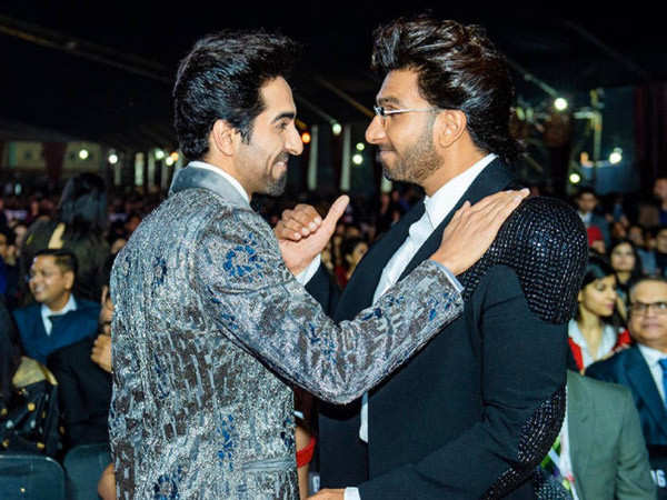 Ranveer Singh and Ayushmann Khurrana's video call is too cool to miss